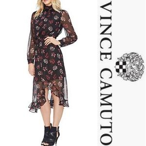 Vince Camuto Floral Maxi Dress